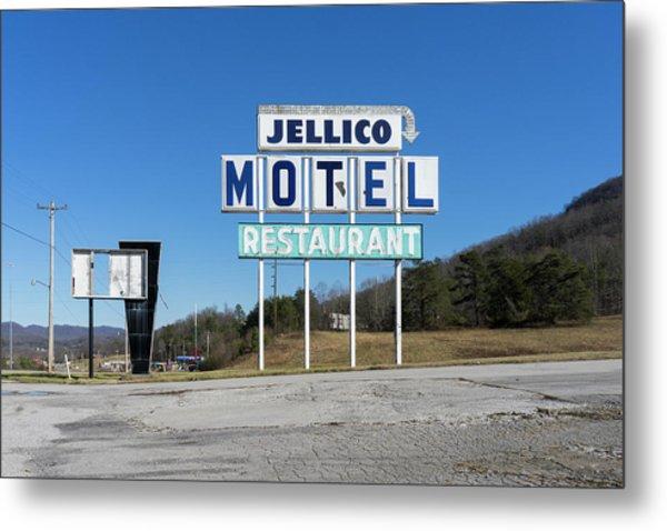 Jellico Motel Metal Print