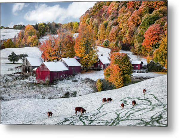 Jenne Farm, Reading, Vt Metal Print