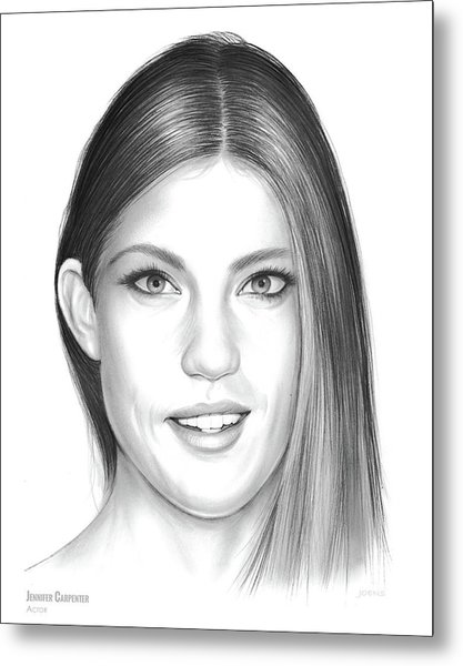Jennifer Carpenter Metal Print