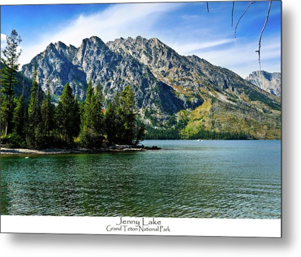 Jenny Lake Metal Print