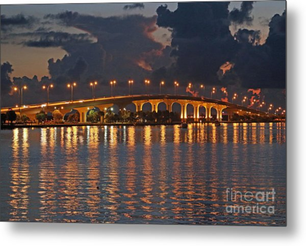 Metal Print featuring the photograph Jensen Beach Causeway by Tom Claud