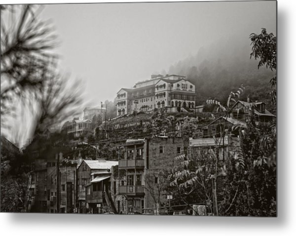 Jerome Az On A Foggy Morning Metal Print