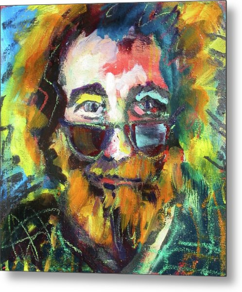 Jerry Garcia Metal Print