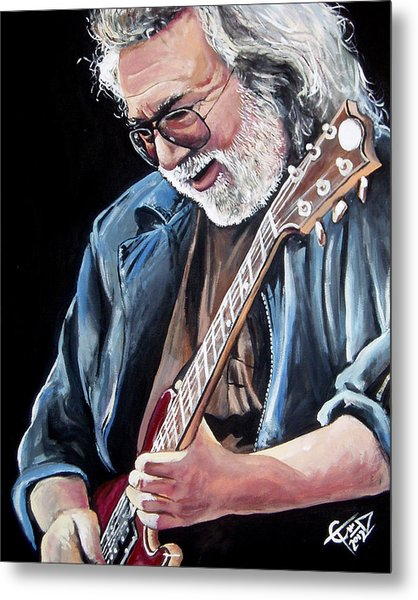 Jerry Garcia - The Grateful Dead Metal Print