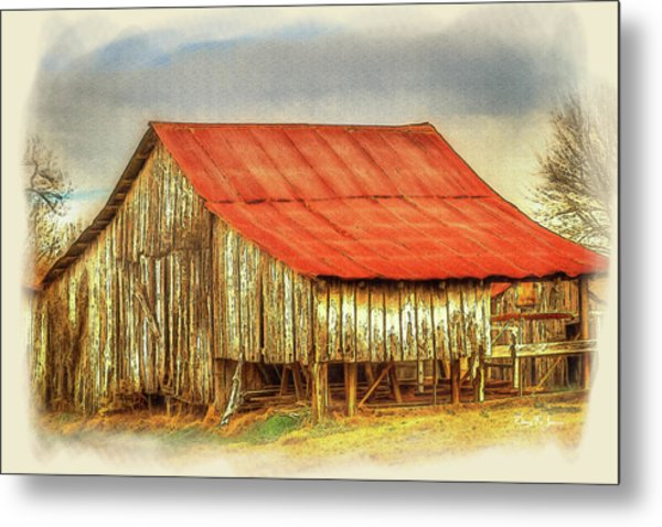 Metal Print featuring the photograph Jerry's Barn by Barry Jones