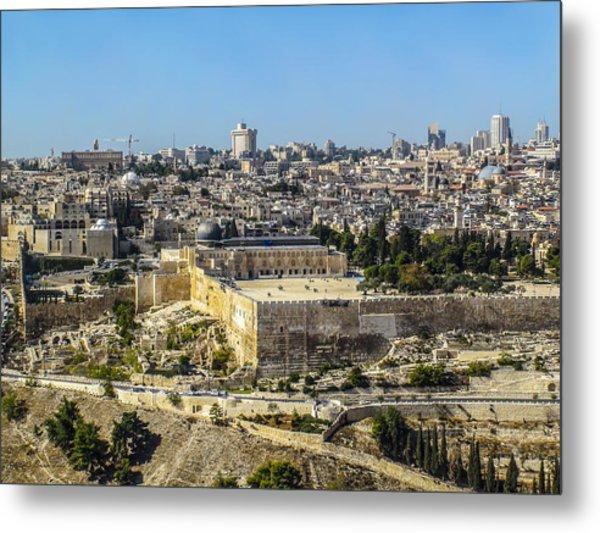 Jerusalem Of Gold Metal Print