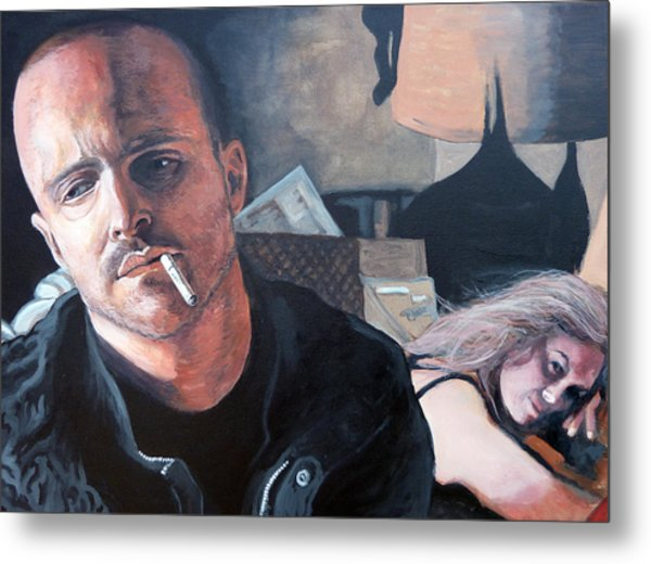 Metal Print featuring the painting Jesse's Girl by Tom Roderick