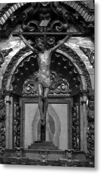 Jesus Christ Mission San Juan Capistrano Metal Print