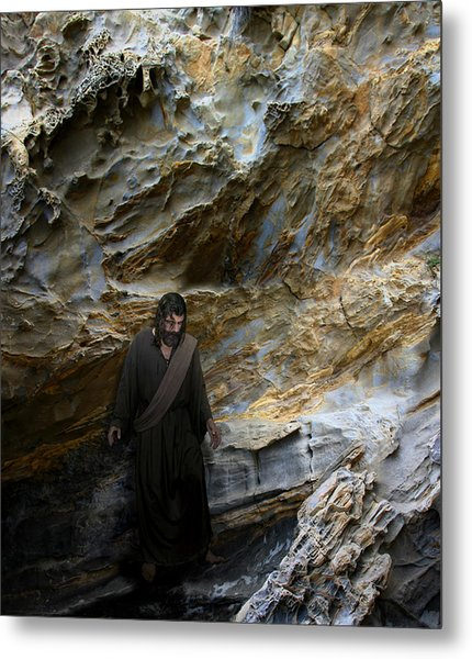 Jesus Christ- You Are My Hiding Place And My Shield Metal Print