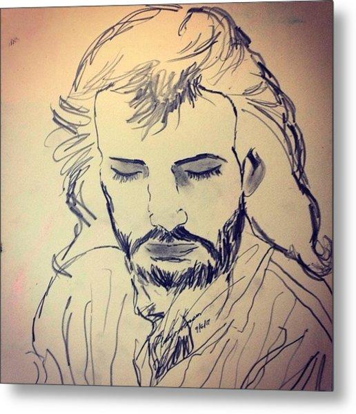 Jesus Life Metal Print