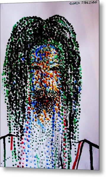 Jesus Lion Of Judah Metal Print