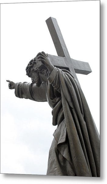 Jesus Metal Print by Stanislovas Kairys