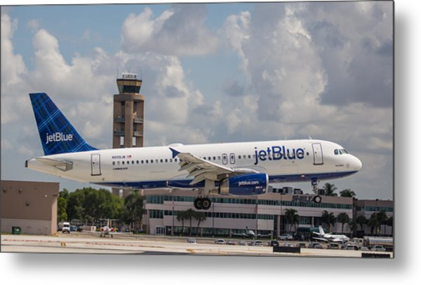 Jetblue Fll Metal Print