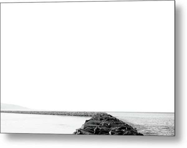 Jetty No. 02 Metal Print