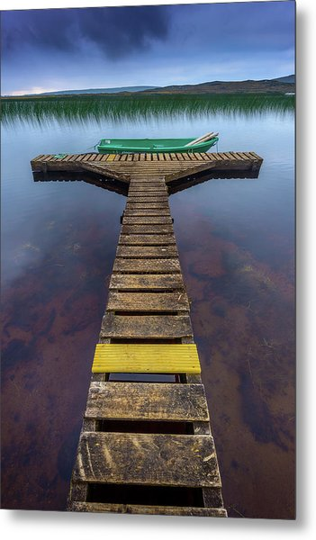 Jetty Metal Print