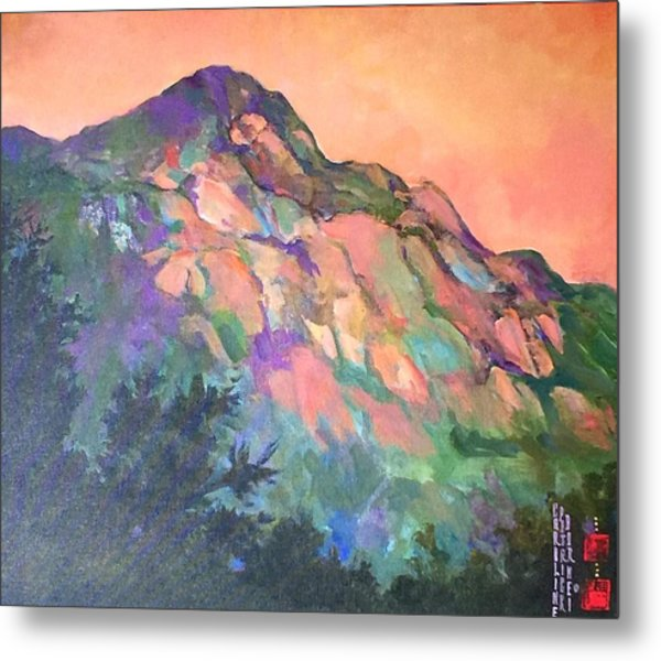 Jewel Mountain 1. Metal Print
