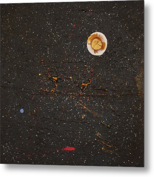 Metal Print featuring the painting Jewel Of The Night by Michael Lucarelli