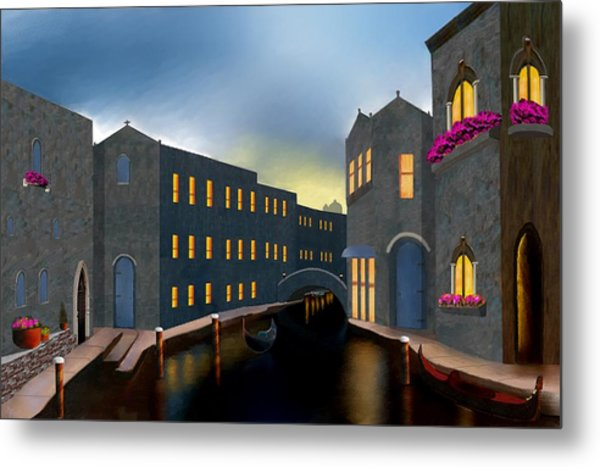 Jewel Of Venice Metal Print
