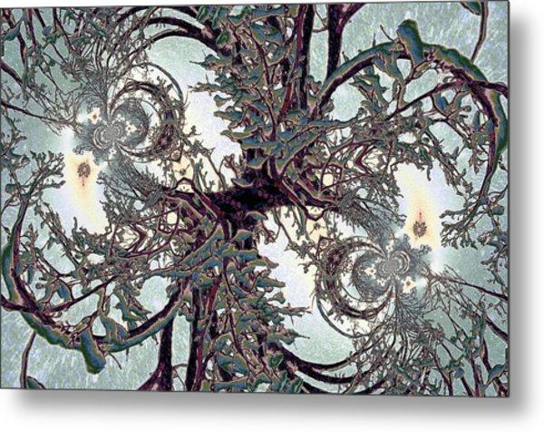 Jewel Tree Metal Print