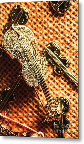 Jewellery Concerto Metal Print