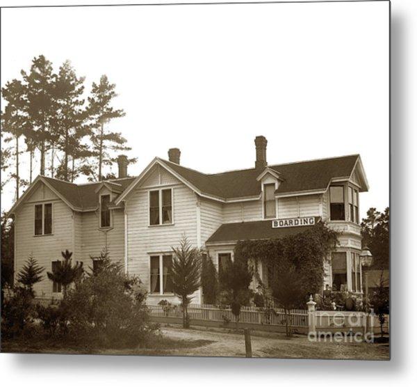 J. F. Gosbey, Built This House Between 1886-88 Metal Print