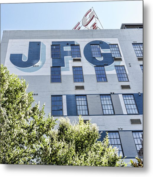 Jfg Looking Up Metal Print