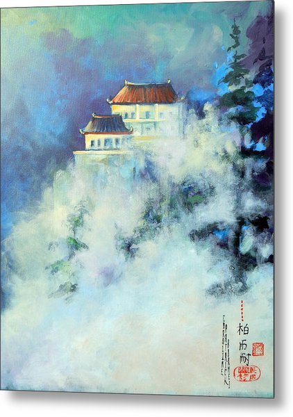 Jihuan Shan China Metal Print