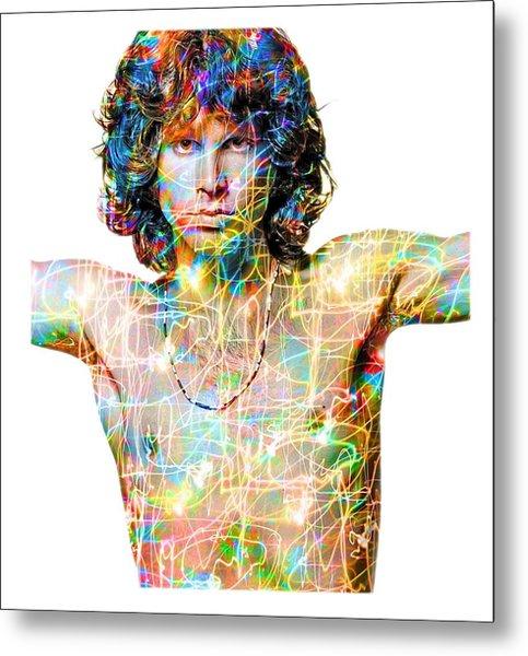 Jim Morrison The Doors Metal Print