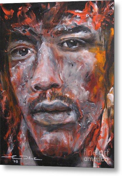 Jimi Hendrix Manic Depression Metal Print