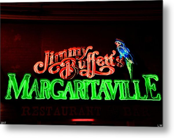 Jimmy Buffett's Margaritaville Metal Print