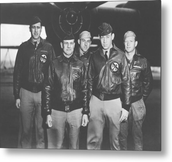 Jimmy Doolittle And His Crew Metal Print