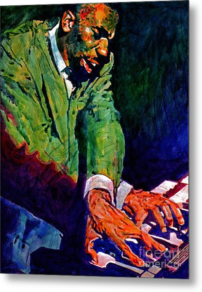 Jimmy Smith Root Down Metal Print by David Lloyd Glover