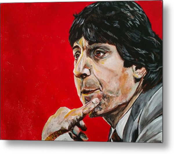 Jimmy V Metal Print
