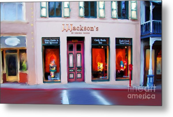 J.j. Jackson's Nevada City Metal Print
