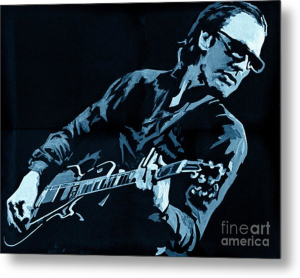 Joe Bonamassa - Different Shades Of Blue Metal Print