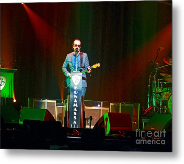 Joe Bonamassa - Live Performance In Eugene Oregon  Metal Print