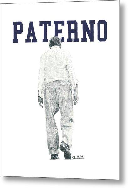Joe Paterno Metal Print