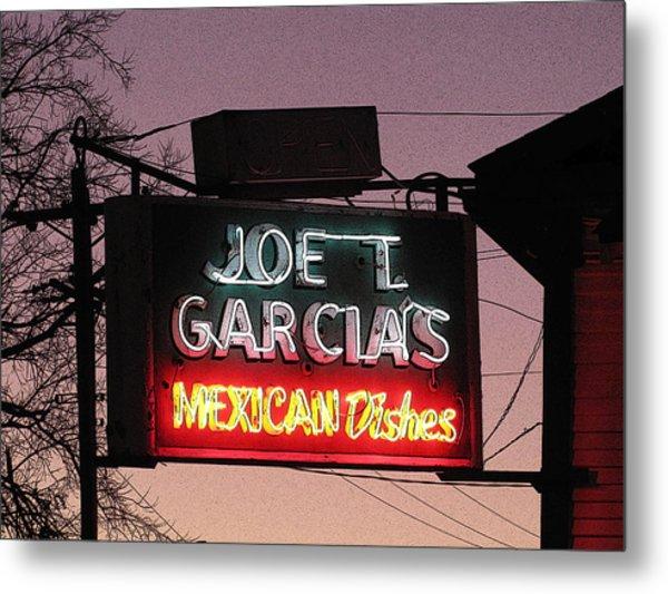 Joe T Garcia's Metal Print