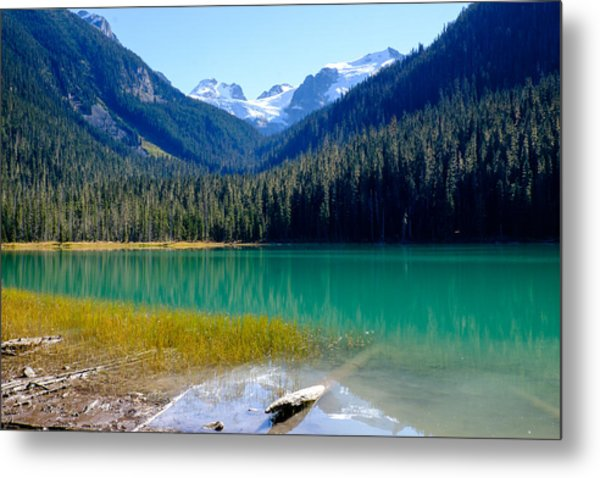 Joffre Lake Horizontal Metal Print