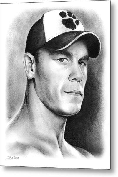 John Cena Metal Print