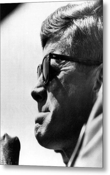 John F. Kennedy, Watches Metal Print