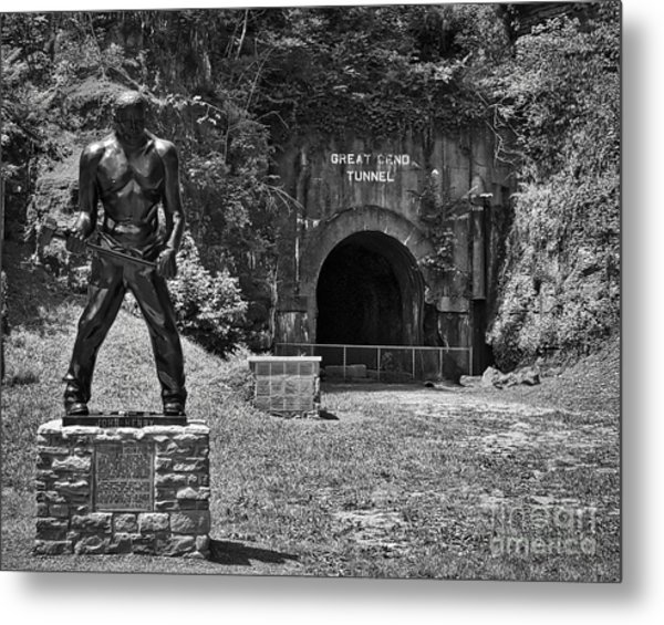 John Henry - Steel Driving Man Metal Print