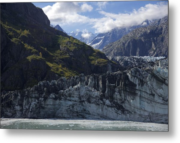 John Hopkins Glacier 15 Metal Print