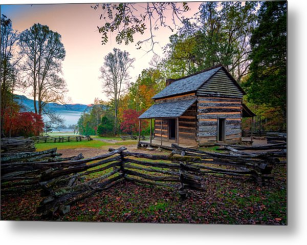 John Oliver Place In Cades Cove Metal Print
