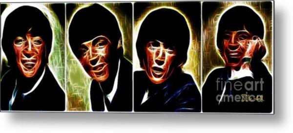 John, Paul, George And Ringo Metal Print