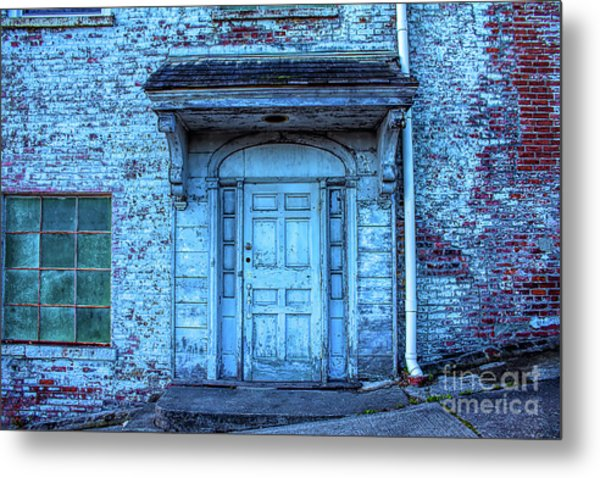 John Turl - Doorway To  Metal Print