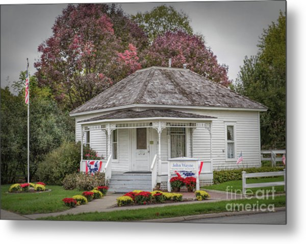 John Wayne Birthplace Metal Print