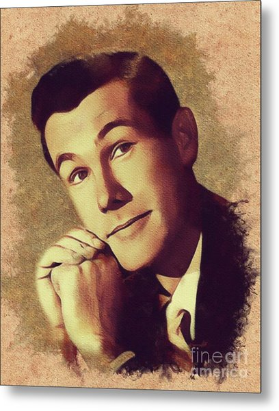 Johnny Carson, Vintage Entertainer Metal Print