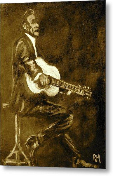 Johnny Cash V Metal Print