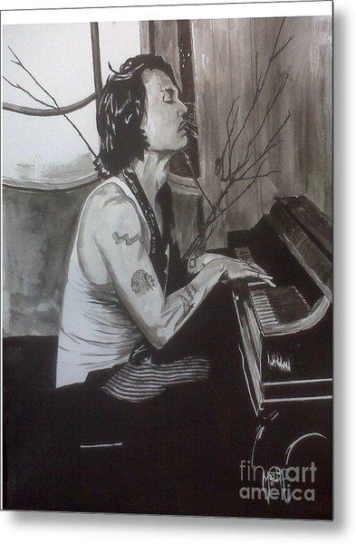 Johnny Depp 1 Metal Print